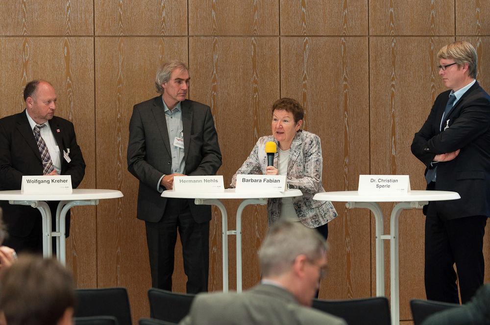 Podiumsdiskussion: Sozialpartner und Ländervertreter