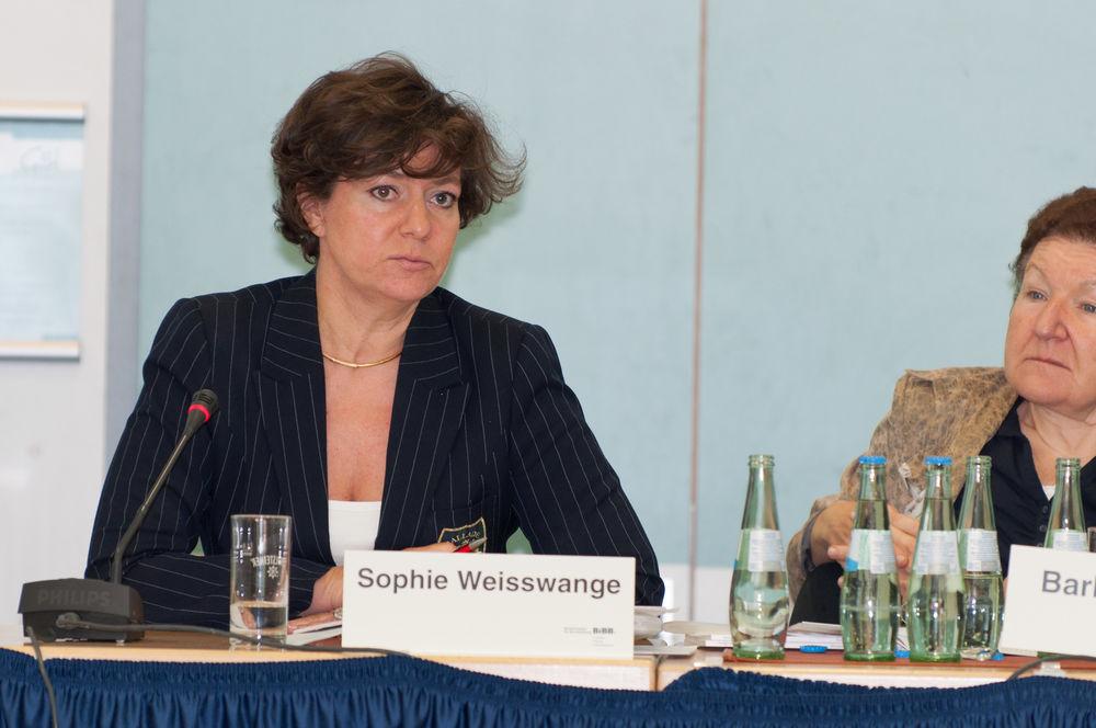 Sophie Weisswange, Europäische Kommission