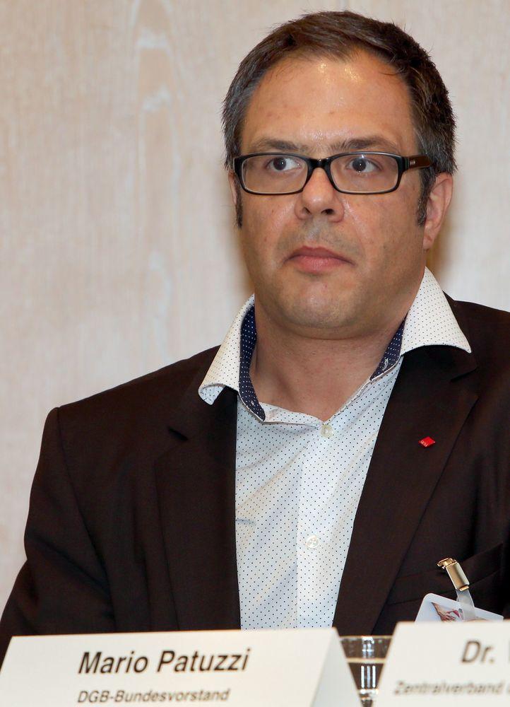 Mario Patuzzi, DGB Bundesvorstand