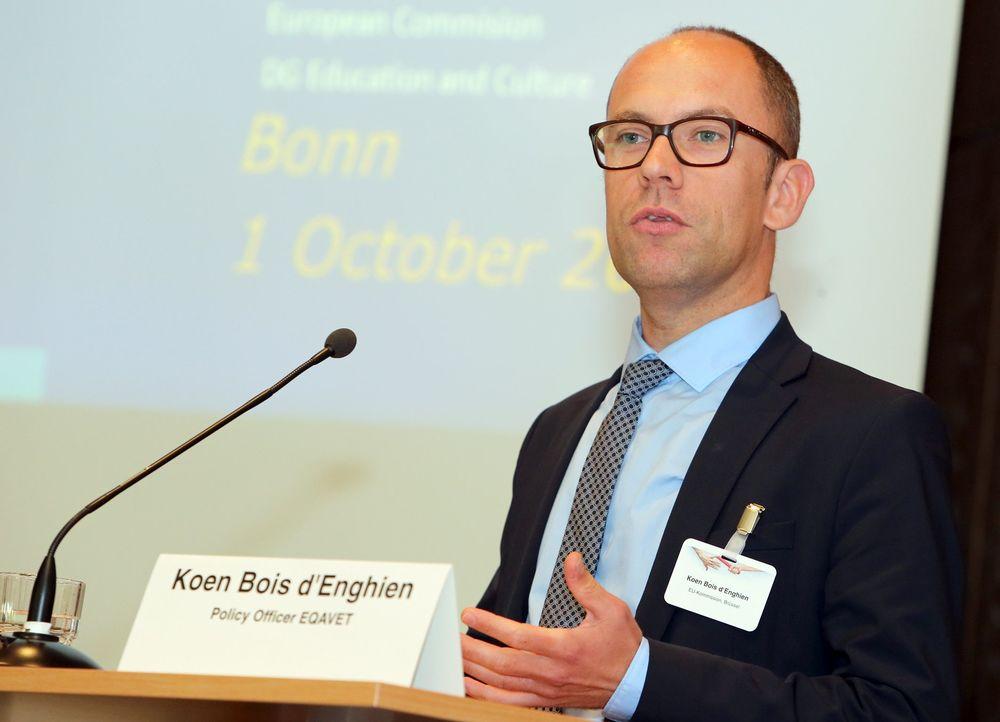 Koen Bois d`Enghien, EU-Kommission