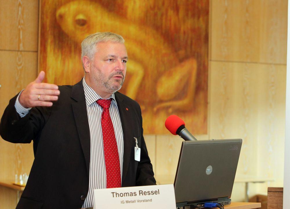 Thomas Ressel, IG Metall Vorstand